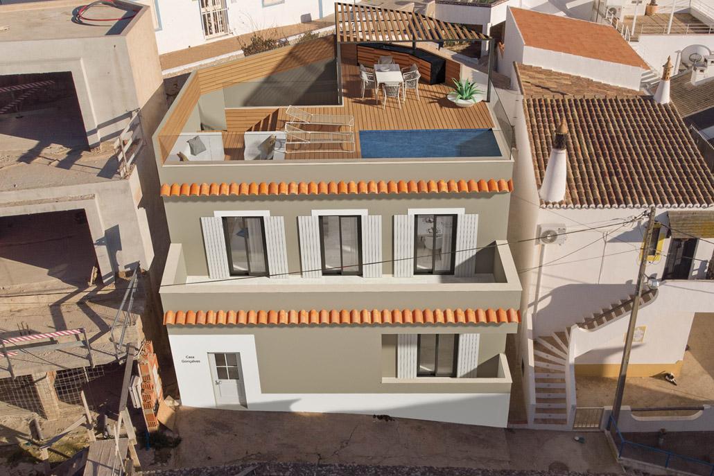 Casa Carvoeiro I by Bespoke Architects